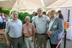 Christian Kunz, BDO AG, Andrea Dähler-Hofweber, Rugenbräu AG, Christoph Erb, Direktor Berner KMU und Walter Haas, Herzog Bau und Holzbau AG