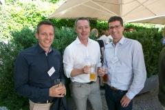 Reto Heini, BDO AG, Remo Kobluk, Rugenbräu AG und Theo Bühlmann, Gebäudeversicherung Bern (GVB)