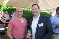 Thomas Lanz, WK Paletten AG und Martin Koller, SKMU Sammelstiftung BVG der KMU