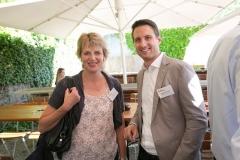 Irene Jordi, Ersparniskasse Affoltern AG und Philippe Schenk, Vaudoise Versicherungen