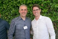 Claudio Bonaria, Adveritas GmbH und Grossrat Lars Guggisberg aus Kirchlindach