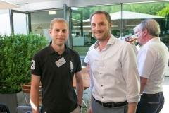 Lukas Hasler und Lukas Gloor, beide von der DC Bank