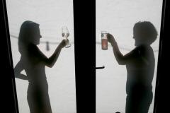 Schattenspiel am Fyrabe-Bier 2019