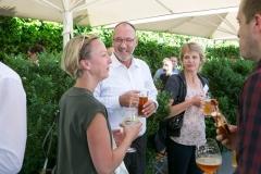 Bei sommerlichen Temperaturen war das diesjährige Fyrabe-Bier wiederum ein voller Erfolg