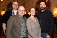 Remo Thüler, Peter Steck, Jeannine Blunier, Adrian Ryf