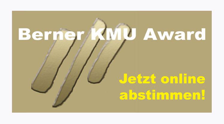 Das Online-Voting läuft: Wer gewinnt den zweiten Berner KMU Award?