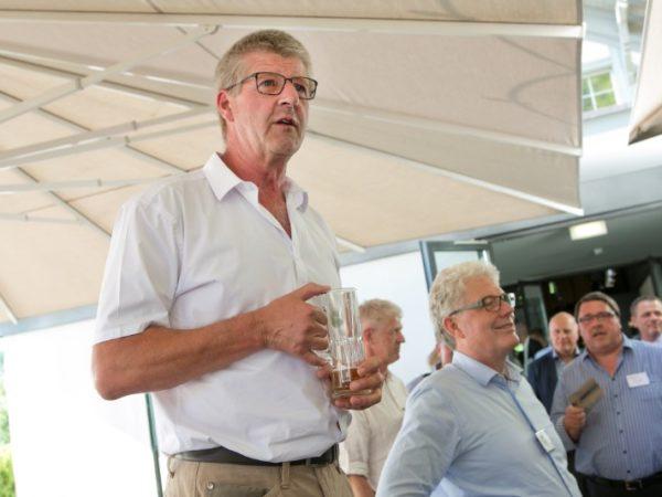 Fyrabe-Bier 2018 mit den Einzelmitgliedern in Bern