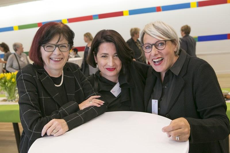 Frühlingsanlass KMU Frauen Bern: Kreativität auf Knopfdruck