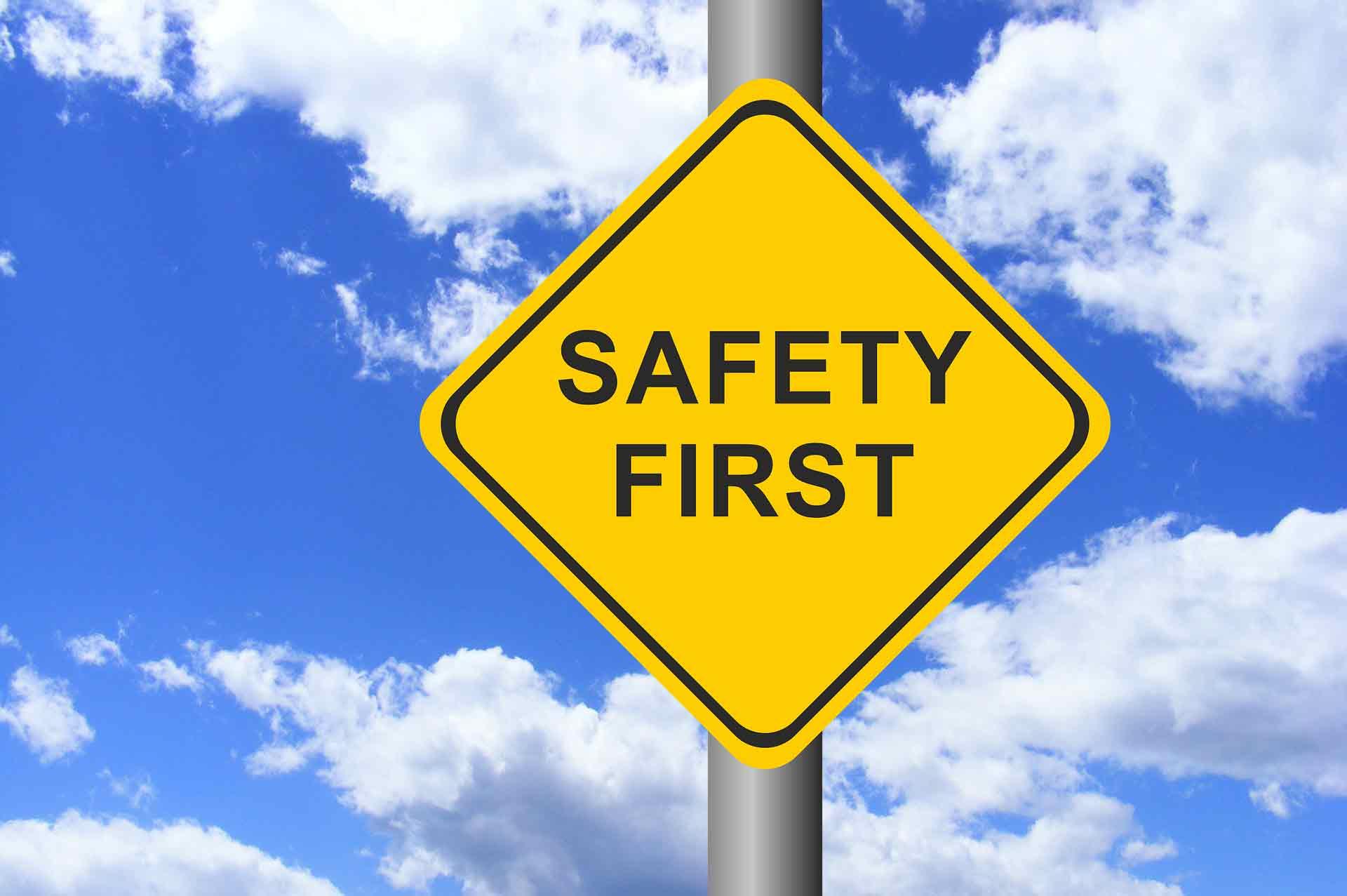 Arbeitssicherheit und Gesundheitsschutz stellen hohe Anforderungen