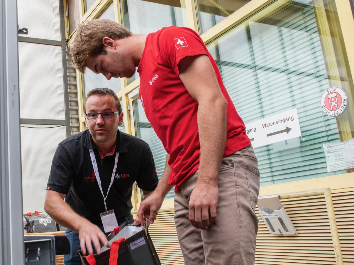 4. Teil unserer Serie: Dreamteam Allenbach/Schranz goes WorldSkills