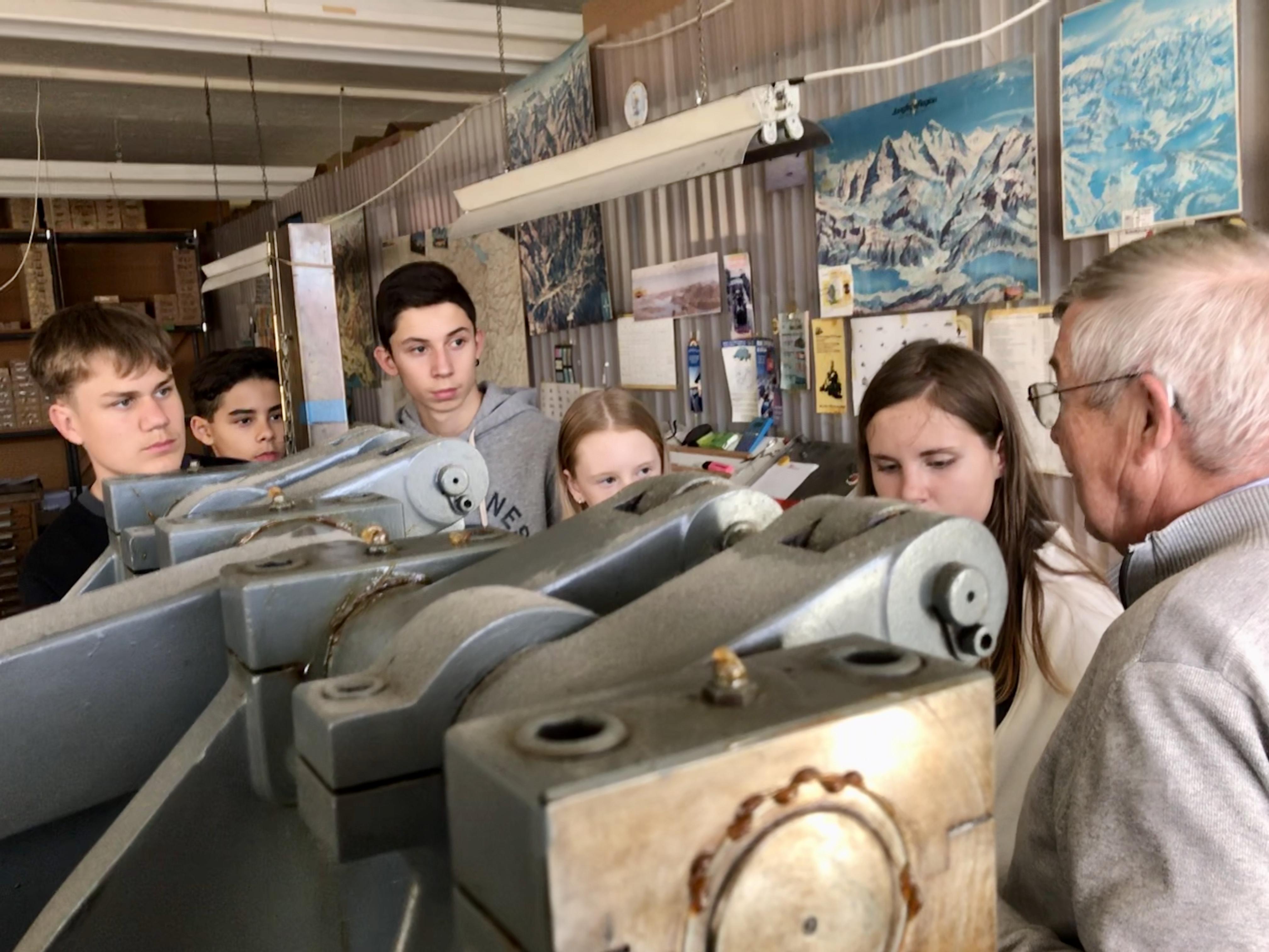 2. Berufstour – Worb: «Worber Gwärb trifft Schule»