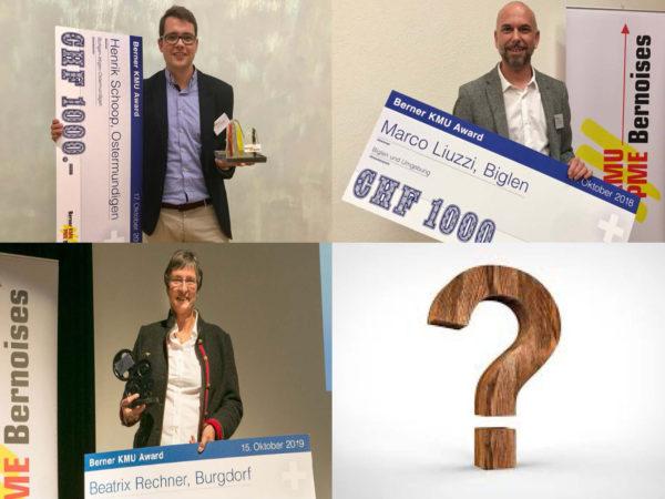 Wer gewinnt den 4. Berner KMU Award?