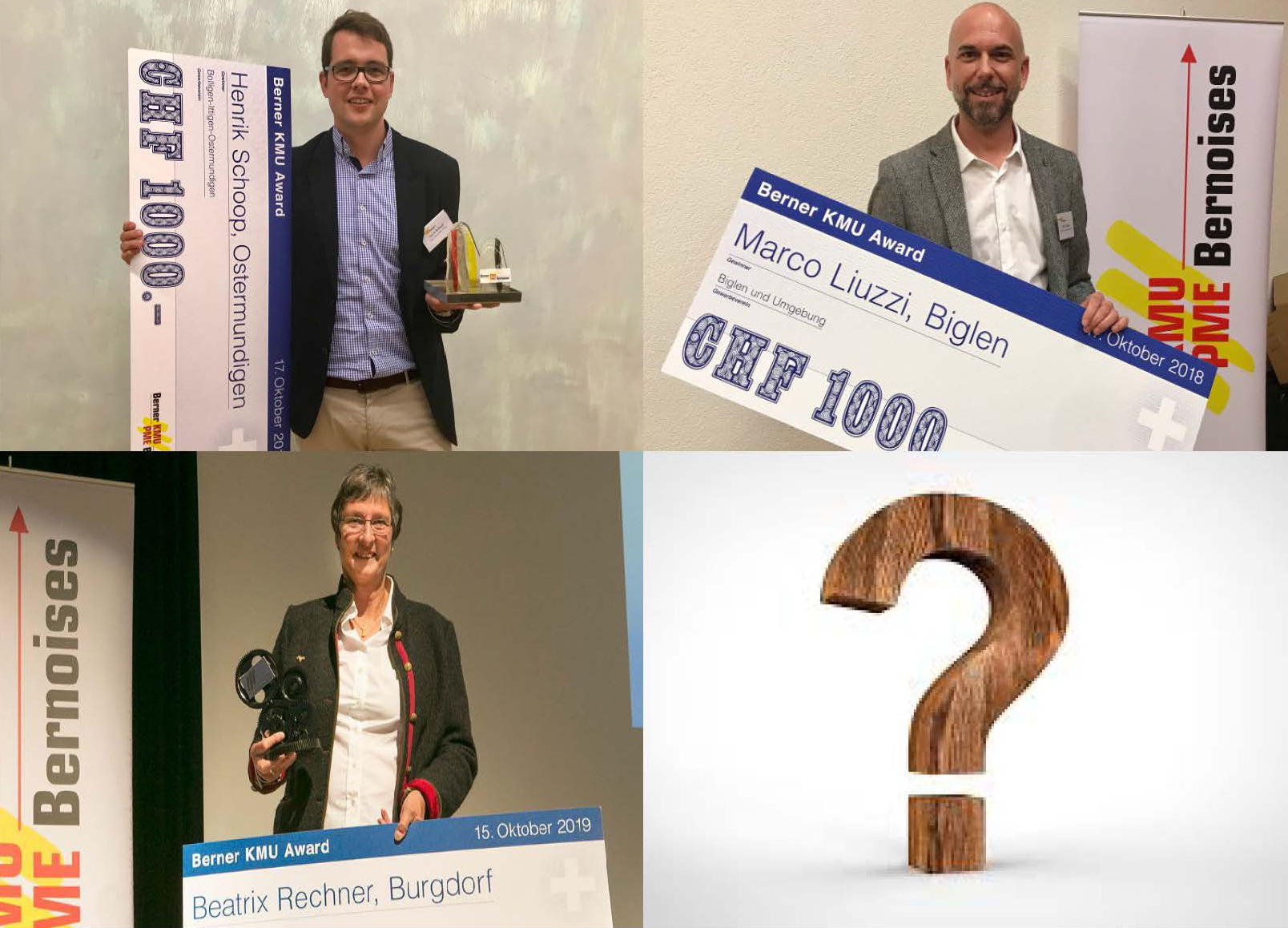 Berner KMU Award 2020: Jetzt Mitglieder melden!