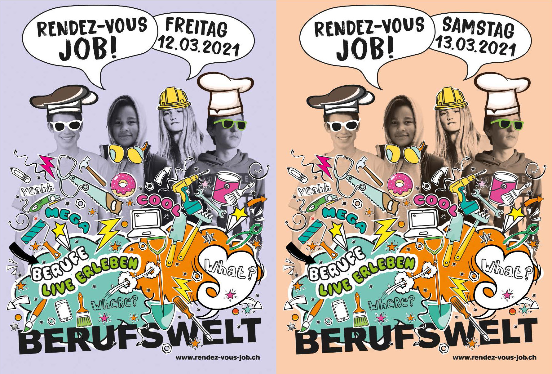 Rendez-vous Job zum Zweiten am 12. und 13. März 2021
