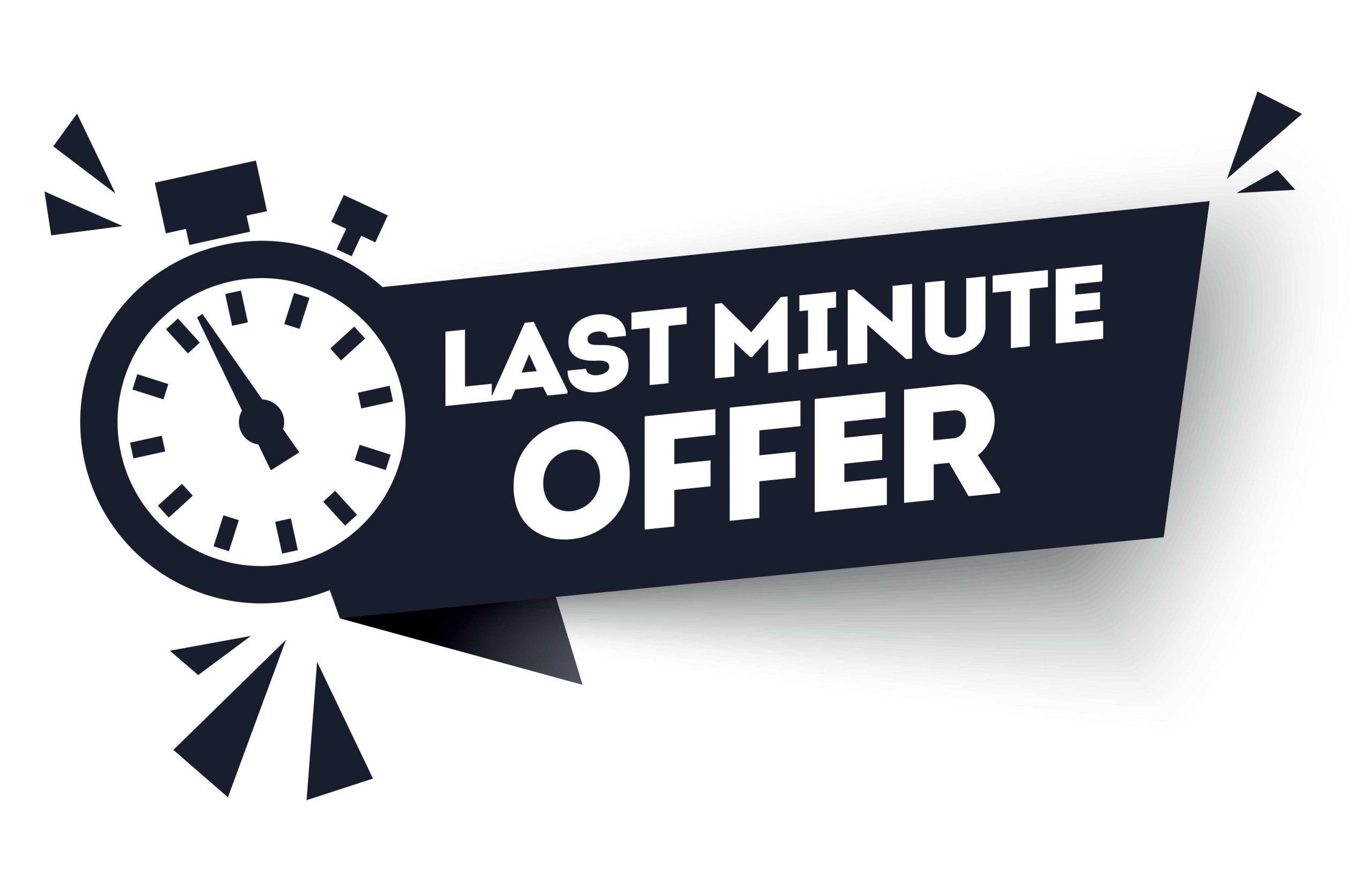Last minute offer – Webseiten für Gewerbevereine und Berufsverbände