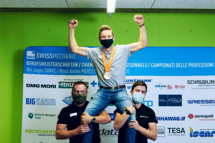 Bärenstarkes Berner Team an den SwissSkills 2020