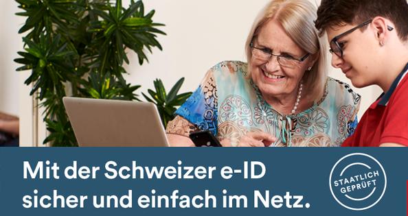 Einfach und sicher – JA zum e-ID-Gesetz am 7. März 2021