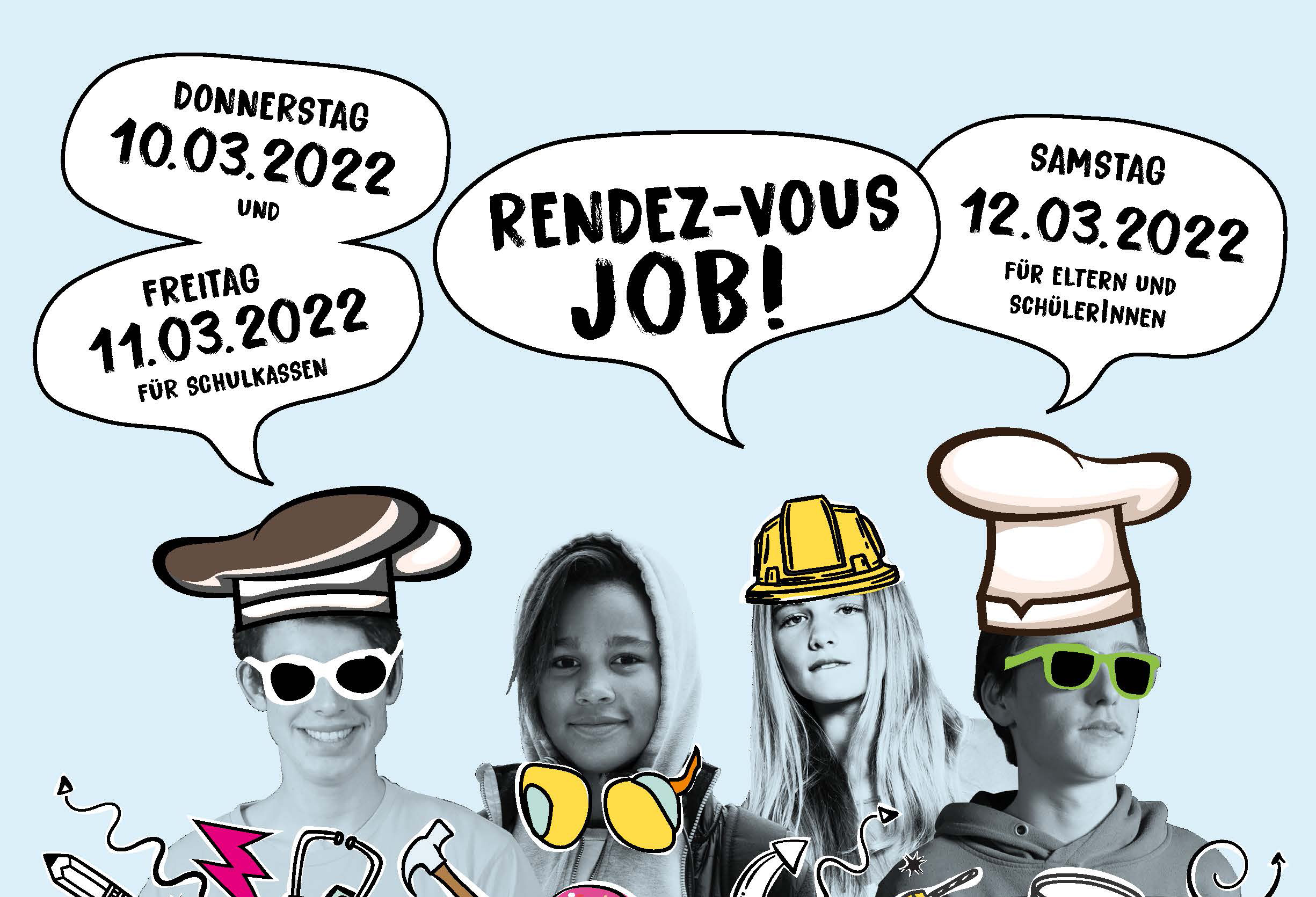"Save the Date: ""Rendez-vous Job"" vom 10. bis 12. März 2022"