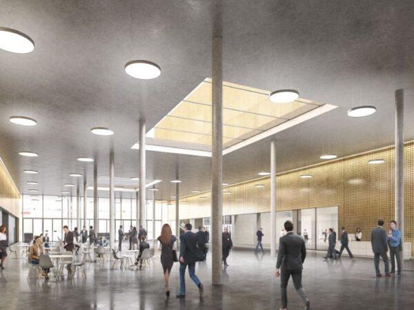 Neue Festhalle – ein klares Statement zum Messeplatz Bern