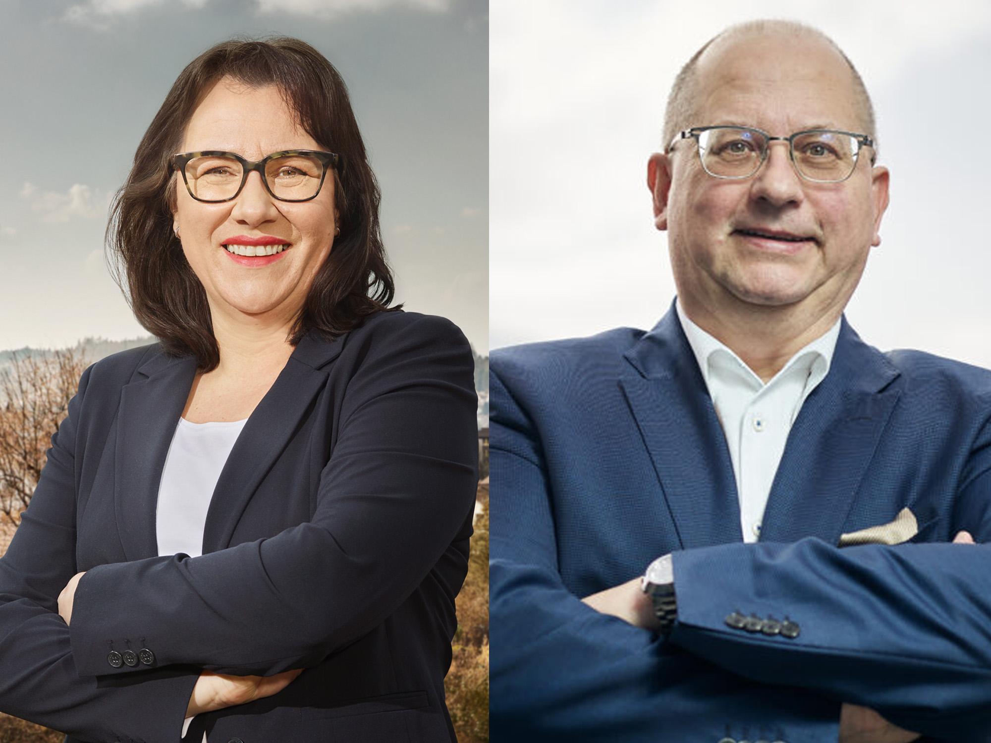 Tatjana Rothenbühler und Mathias Berger – Regierungsstatthalter für das Gewerbe