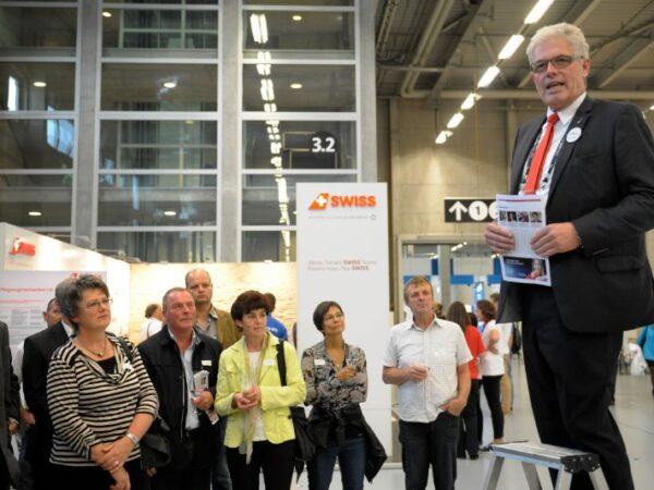 28 Jahre als Berner KMU-Direktor: Christoph Erb in Wort und Bild