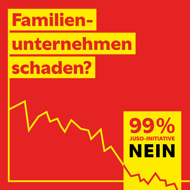 NEIN zur KMU-schädlichen 99%-Initiative!